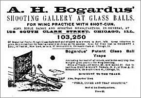 Advert for Glass Balls